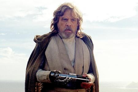 Mark Hamill happy to be back (even if they did give away his toys)