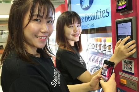 SP Innomall houses Singapore's largest vending machine cluster