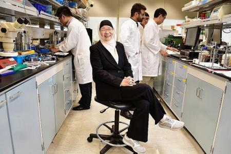 Singapore-based scientist earns top accolade for academic inventors
