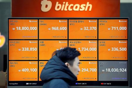 South Korea bans its banks from dealing in bitcoin