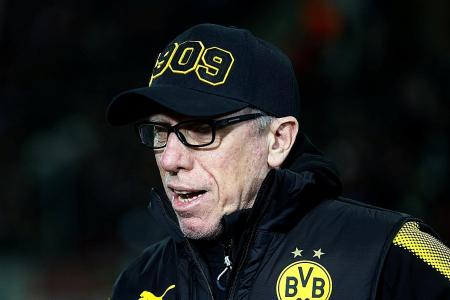 Peter Stoeger off to winning start with Borussia Dortmund