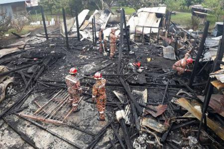 Two fires in Selangor kill nine people, murder suspected in one case
