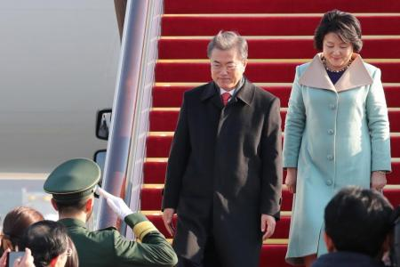 South Korea seeks to mend frayed ties with China