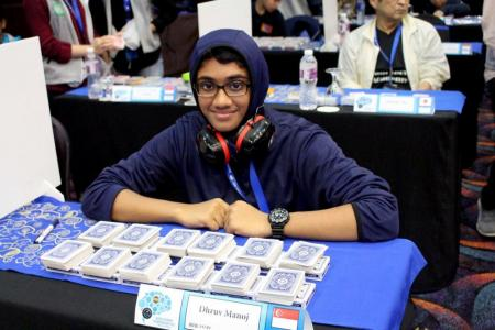 S'pore pupil, 11, sets new world record