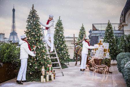 The world's most festive hotels this Christmas