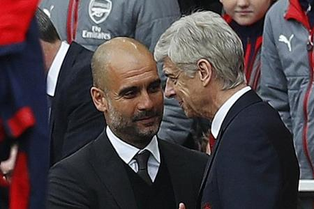 Wenger says Man City must respect Arsenal's Invincibles