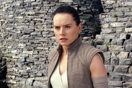 In full force: Daisy Ridley pushes her limits for Star Wars sequel