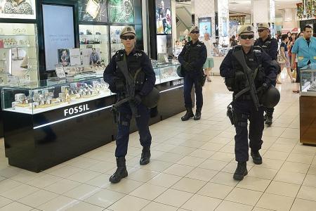 New teams deployed against terror threats