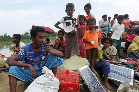 For Rohingya refugees, solar panels can be life savers