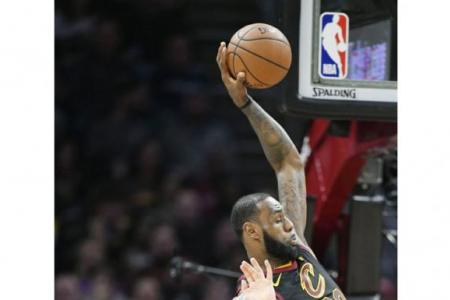Cavs star LeBron James ties Bird for sixth in all-time triple-doubles