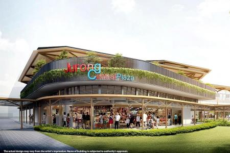 New $6.2 million plaza for Jurong West to open end-2018