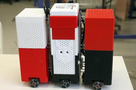 Coming soon: Shape-shifting robots to clean hawker centres