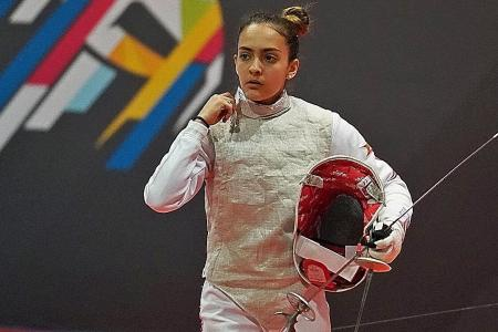 Singaporean teen fencer marks birthday with historic title
