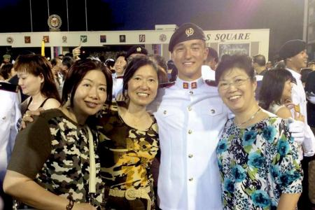 Overseas Singaporeans take pride in country through national service