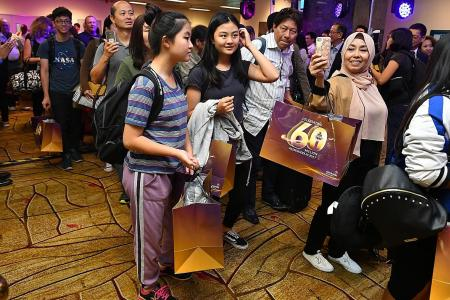 Changi Airport welcomes 60 millionth passenger for this year