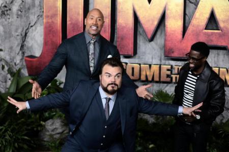 Jack Black, Kevin Hart game to film Jumanji in Hawaii