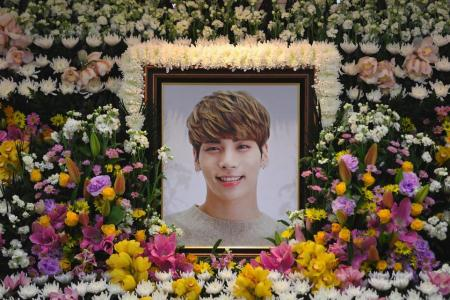 K-pop star Jonghyun says depression 'engulfed me' in suicide note
