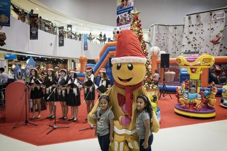 Wave of Christmas fun for everyone at Kallang Wave Mall