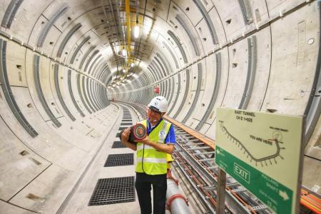 Deepest tunnel system to ensure power supply to Singapore