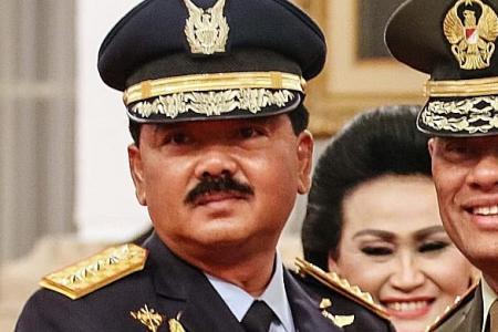 Indonesia's new army chief revokes predecessor's reshuffle