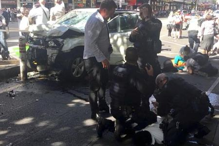 Flinders Street: Accused driver released from hospital, three still critical