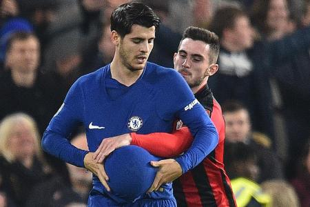 Bittersweet win for Conte, who loses Morata for Everton game