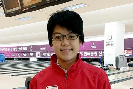 National bowler Cherie finishes third in Storm Cup