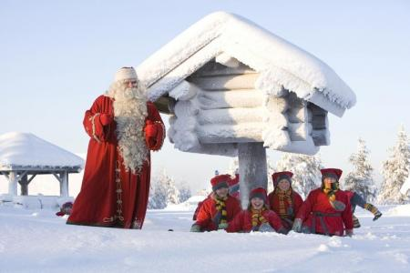 In Finnish Lapland, tourists fill Santa's sack with cash