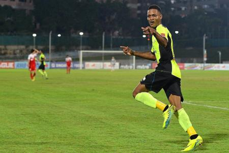 Tampines coach Raab delighted with Webb's return