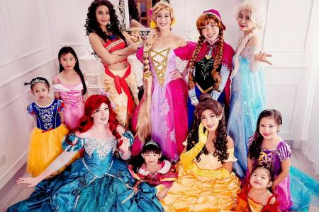 Throw your child a princess party