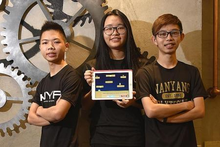 Poly students develop game to teach cyber security