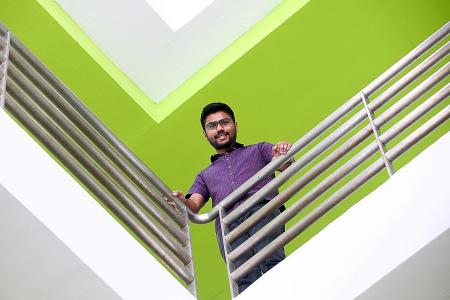 Second time's the charm for Green Building and Sustainability grad