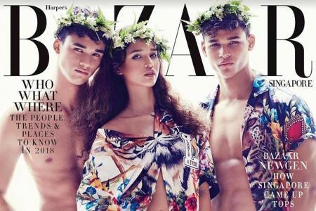 Irfan, Ikhsan and Iman Fandi are cover stars