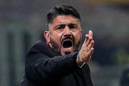 Milan coach Gattuso's job on the line: Reports