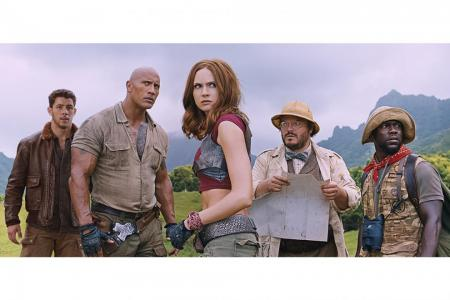 Jonas aimed to do new Jumanji justice