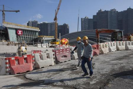 Part of HK high-speed railway station to be under China laws