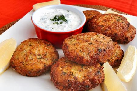 Hed Chef: Pan-fried crab cakes
