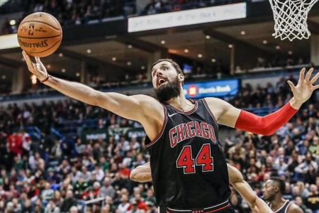 Mirotic magic from bench powers Bulls to win over Bucks