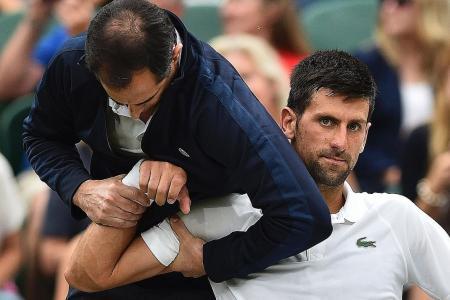 Djokovic draws strength from injury hell