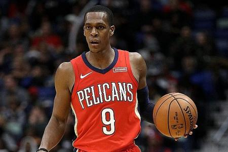 Pelicans' Rondo equals 21-year assists mark with haul of 25
