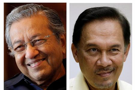 Anwar yet to okay naming Mahathir as PM candidate