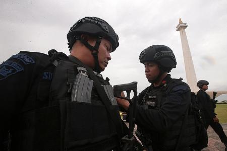 Indonesia strengthens anti-terror unit
