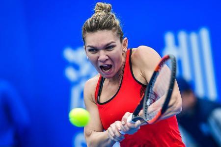 Winning start to 2018 for Halep, Sharapova
