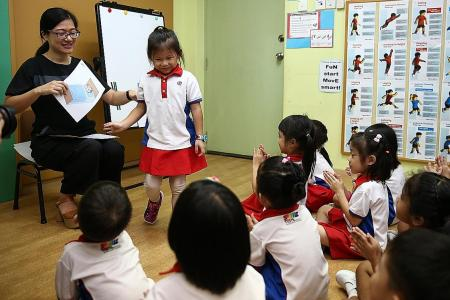 Chinese teaching materials developed by NTU for pre-schoolers