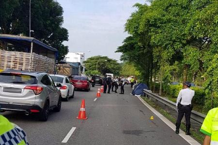 Motorcyclist, 31, killed in accident on PIE