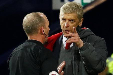 Farcical penalty or prejudiced Wenger?
