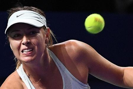 Sharapova: I wasn't playing my best tennis