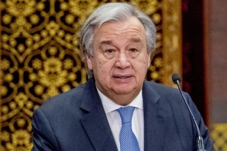 UN chief welcomes reopened Korean hotline
