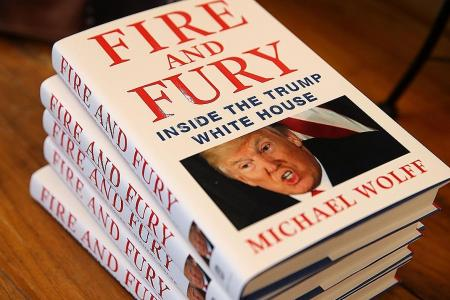 Fire And Fury writer says book will end Trump presidency