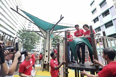 A playground for the people, by the people
